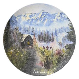 Mountain Hideaway Plate