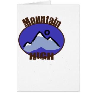 Mountain High Cards