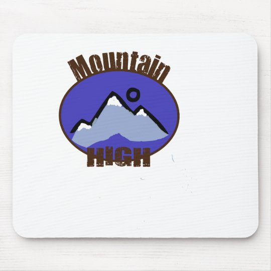 Mountain High Mouse Pad