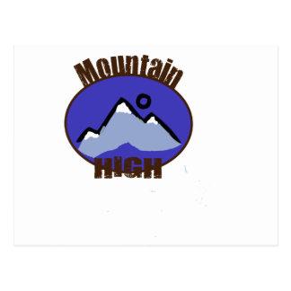 Mountain High Postcard