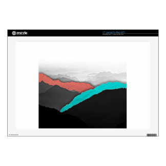 """Mountain Highlights Skin For 17"""" Laptop"""