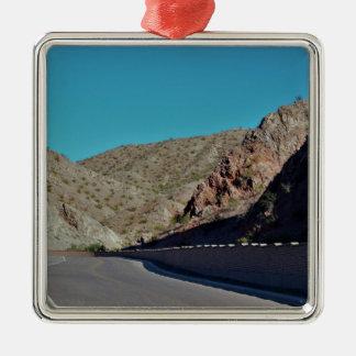 Mountain Highway in Arizona Metal Ornament