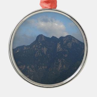 mountain hill metal ornament