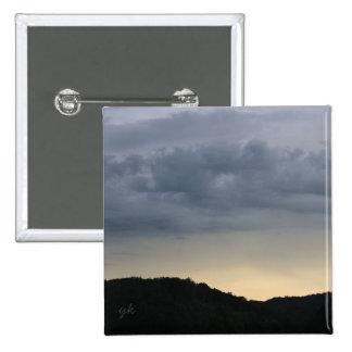 Mountain Horizon 2 Inch Square Button