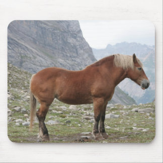 Mountain horse mouse pad