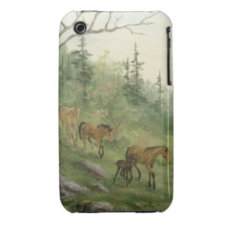 Mountain Horses iPhone 3G/3GS Case iPhone 3 Case