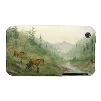 Mountain Horses iPhone 3G/3GS Case iPhone 3 Cover