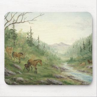 Mountain Horses Mousepad