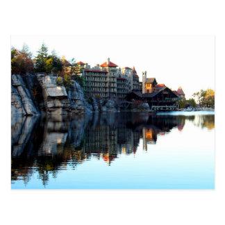 Mountain House Reflection Postcard
