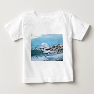 Mountain Houses Snow Davuis Strait by Ozborne W Baby T-Shirt