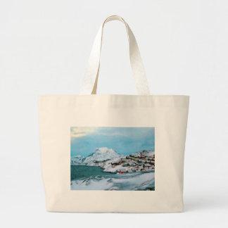 Mountain Houses Snow Davuis Strait by Ozborne W Bags