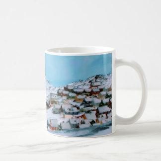 Mountain Houses Snow Davuis Strait by Ozborne W Coffee Mug