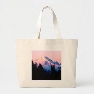Mountain Hues Of An Autumn Sunrise Baker Bags