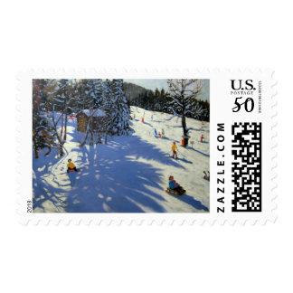 Mountain hut Morzine Postage