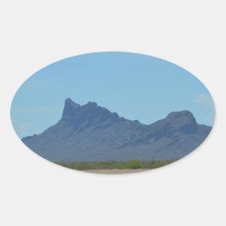 Mountain in Arizona Oval Sticker