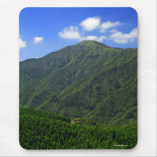 Mountain in Azores islands Mouse Pad