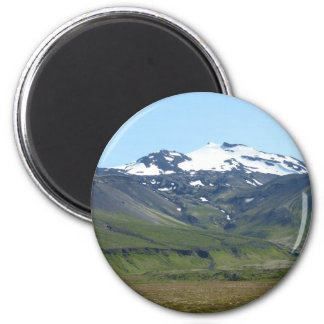 Mountain in Iceland Magnet