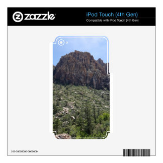 Mountain in Red Rock NV Decals For iPod Touch 4G