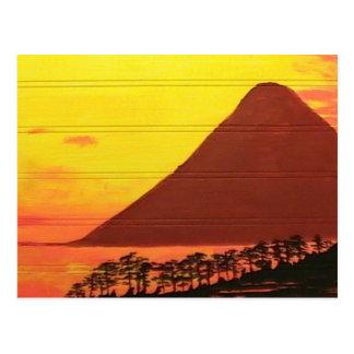 Mountain in the Sea Postcard