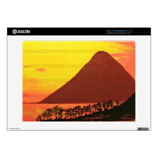 Mountain in the Sea Decal For Acer Chromebook
