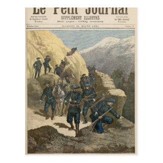 Mountain Infantrymen Postcard