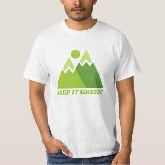 Mountain Keep It Green T-Shirt