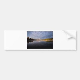 Mountain Lake Bumper Sticker