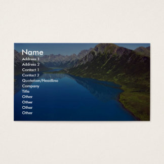 Mountain Lake Business Card