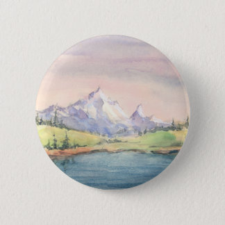 MOUNTAIN LAKE by SHARON SHARPE Button