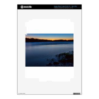 Mountain Lake Glow Decal For iPad 3