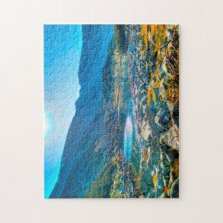 Mountain Lake HDR Jigsaw Puzzle