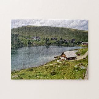 Mountain Lake in Carinthia, Austria Jigsaw Puzzle