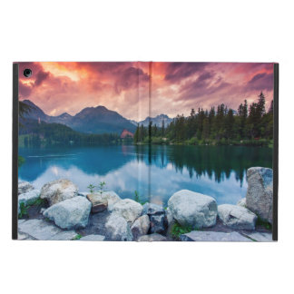 Mountain lake in National Park High Tatra 2 Cover For iPad Air