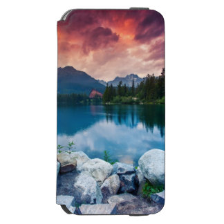 Mountain lake in National Park High Tatra 2 iPhone 6/6s Wallet Case