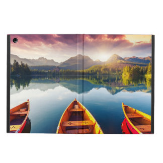 Mountain lake in National Park High Tatra 3 iPad Air Case