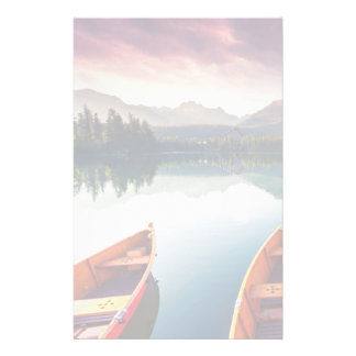 Mountain lake in National Park High Tatra 3 Stationery