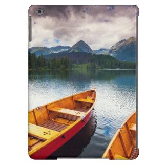 Mountain lake in National Park High Tatra iPad Air Cover
