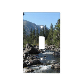 Mountain Lake Light Switch Cover