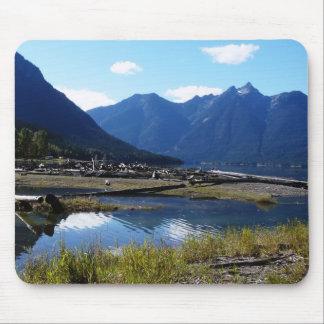 Mountain Lake Nature Landscape Mouse Pads