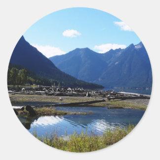 Mountain Lake Nature Landscape Stickers