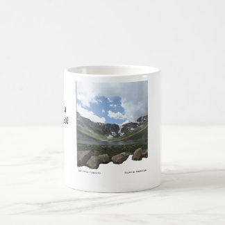 Mountain Lake on Mt. Evans in Colorado Coffee Mug