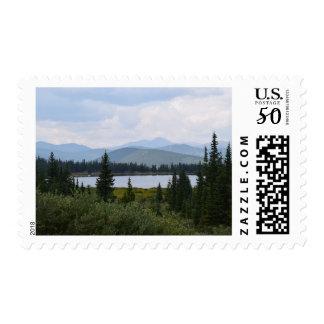 Mountain Lake Postage