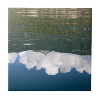 Mountain Lake Reflection Tile