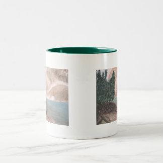 Mountain Lake Serenity Mug