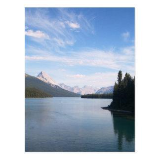 Mountain lakes. postcards
