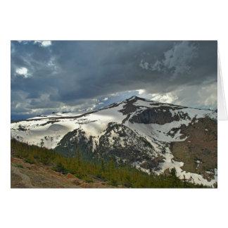 Mountain Landcape Note Card (blank)