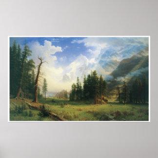 Mountain Landscape 1895 Albert Bierstadt Print