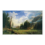 Mountain Landscape, 1895, Albert Bierstadt Print