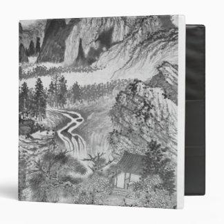 Mountain Landscape, after Huang Gongwang  1671 Binder