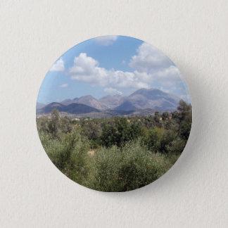 Mountain Landscape Button